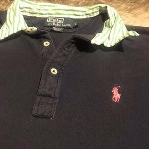 Polo by Ralph Lauren Shirts - Polo Ralph Lauren Rare Navy Short Sleeve Shirt